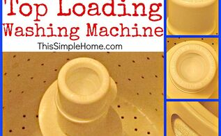 how to clean a top loading washing machine soap scum, appliances, cleaning tips
