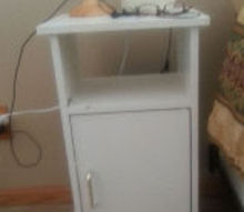 q need ideas on sprucing up this nightstand set, chalk paint, painted furniture, Nightstand