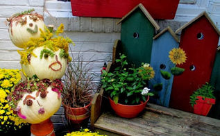 fall and halloween inspiration round up from the garden charmers, gardening, halloween decorations, repurposing upcycling, seasonal holiday d cor, wreaths, Barb Rosen shares indoor and out door decor