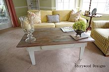 a primitive table gets a new lease on life, home decor, painted furniture