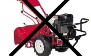 why not to use a rototiller and how to have a great garden without one, gardening, raised garden beds, Rototillers can cause more harm than good to your garden soil