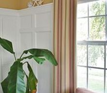 a few ways to fake window treatments, home decor, window treatments, windows, A Few Ways to Fake Window Treatments