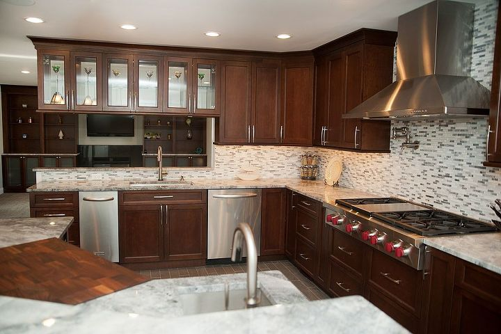 Gourmet Kitchen Remodel Morris Nj: 20 Year Old NJ Home Gets A New Gourmet Kitchen & Gameroom