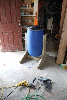 diy compost tumbler, composting, diy, go green