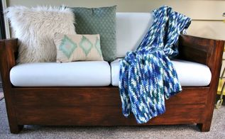 styling a love seat 4 different ways, home decor, First look Beachy Cool