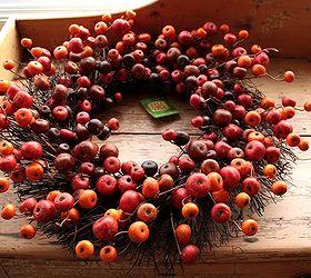 Turn a Fall Clearance Wreath Into a Christmas Wreath | Hometalk
