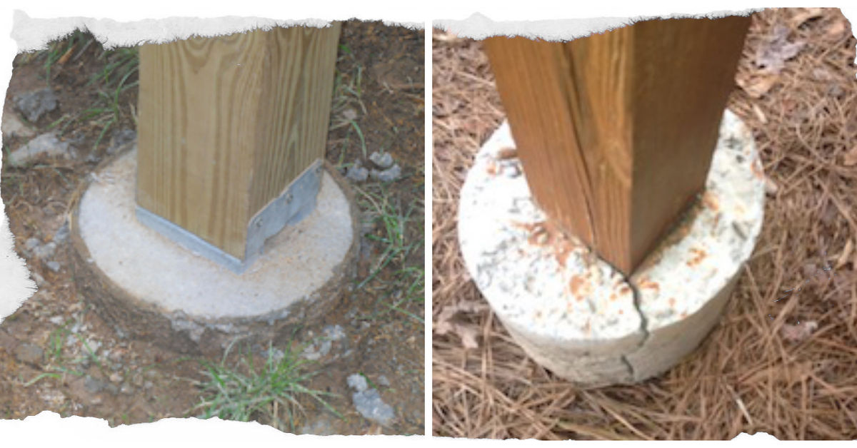 Why Deck Posts Should Not Be Set In Concrete Hometalk