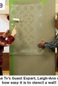cityline tv features cestencils zamira pattern, painting
