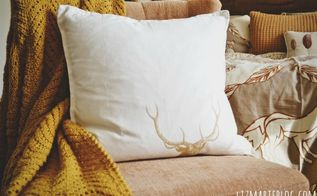 diy no sew napkin pillow, crafts, DIY no sew napkin pillows