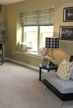 recent job for terri kemp interiors, bedroom ideas, home decor, painting, Oversized circles in a kids study area