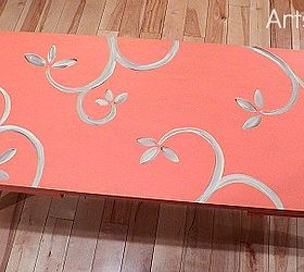 Coral Is The Hot Color Of The Season, Chalk Paint, Painted Furniture, Hand