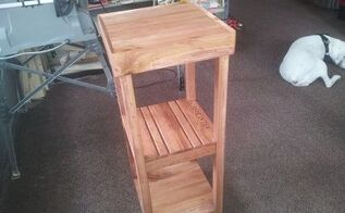 refurbished pallet into plant stand complete, diy, gardening, pallet, repurposing upcycling, woodworking projects