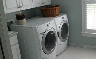 laundry room, home decor, laundry rooms, Our Laundry Room