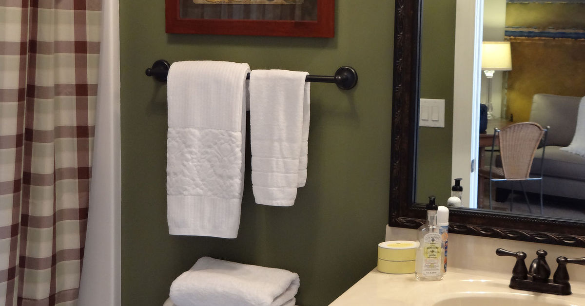 The olive bathroom a mancave ensuite we can agree on for Bath remodel wilson nc