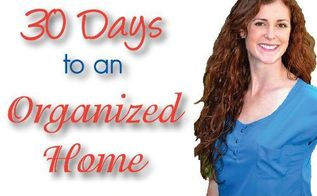 30 days to an organized home garage bathroom kitchen closets pantry cabinets, garages, organizing, Operation 30 Days to an Organized Home by Design Build Love