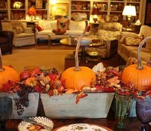 seasonal fall decor, seasonal holiday decor, Apparently the farmers go out and twist the stems while the pumpkins are growing to make them strong enough to grow this long