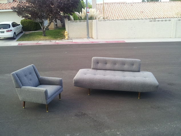 Sofa And Chair Recovered Hometalk