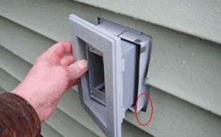 q sealing around a vinyl siding mounting block, curb appeal