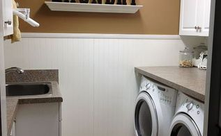 laundry room re do, doors, home decor, home improvement, laundry rooms, Finished project