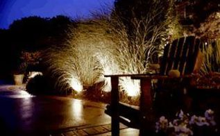 garden lighting mains powered, go green, lighting, outdoor living, Garden Lighting Mains Powered