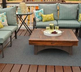 Perfect Fire Pit Table Top, Decks, Outdoor Furniture, Outdoor Living, Painted  Furniture