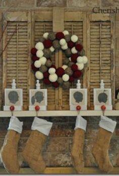 christmas mantel, christmas decorations, crafts, seasonal holiday decor, wreaths, 2011 Christmas Mantel