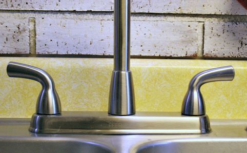 how to get rid of limescale on faucet