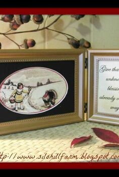 thanksgiving inspired photo frame, crafts, thanksgiving decorations