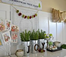 a christmas vignette, christmas decorations, crafts, seasonal holiday decor