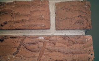 q how can smooth the rough brick on my house for painting, concrete masonry, painting, Orange rough brick