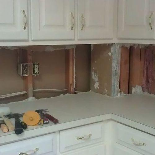 Kitchen Backsplash Over Drywall help! cement board,sheetrock, more drywall? for tiling kitchen