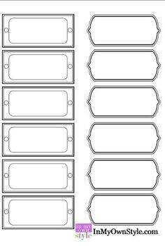 organizing and free printable labels, crafts, organizing, Free printable labels to download
