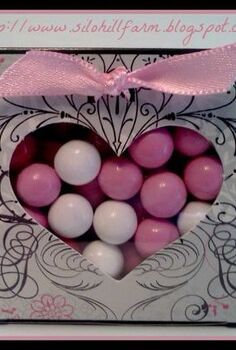 valentine candy gift boxes, crafts, valentines day ideas