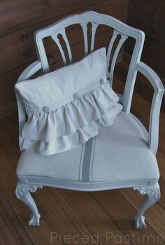 ruffled pillow tutorial, crafts