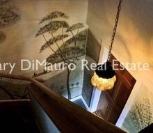 a mural in the style of rufus porter, foyer, painting, My mural in the style of Rufus Porter via GaryDiMauro com