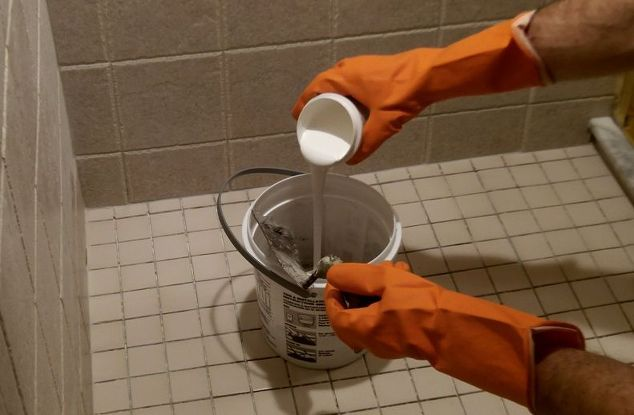 Epoxy Shower Grout : Shower grout that doesn t stain or need sealed ever