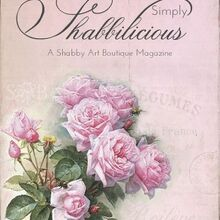 free simply shabbilicious magazine, home decor, Read Simply Shabbilicious magazine FREE online Over 60 pages of beautiful photos to make your shabby heart sing