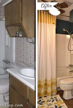 small bathroom makeover, bathroom ideas, home decor, small bathroom ideas, Bathroom makeover before and after