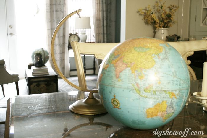 Thrifty DIY Shade Replacement Using A Globe Hometalk