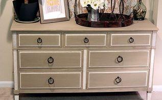 diy mid century modern dresser makeover, painted furniture