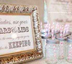 15 Mason Jar Wedding Ideas, Crafts, Mason Jars, Outdoor Living, Repurposing  Upcycling