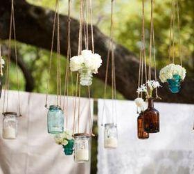 Beautiful 15 Mason Jar Wedding Ideas, Crafts, Mason Jars, Outdoor Living, Repurposing  Upcycling