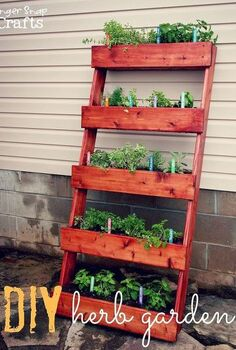 diy herb garden tutorial, diy, gardening, how to, This was an easy weekend project