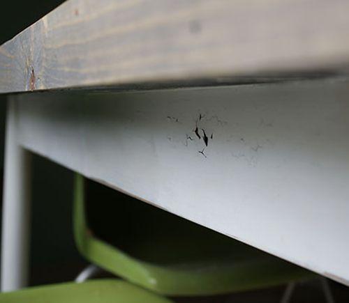 reclaimed wood table top resurface diy hometalk