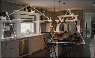 my easy design tip that may change how you style your home forever, home decor, My triangle theory Come see my easy and effective design tip for creating displays in your home