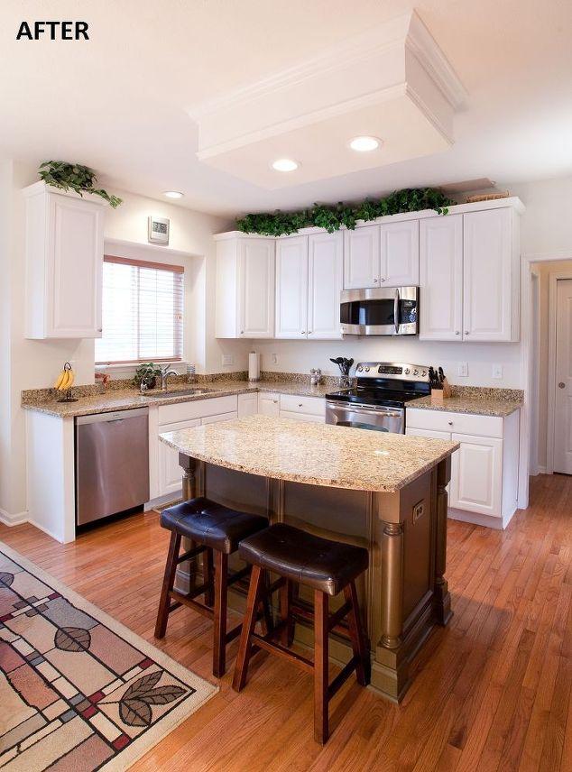 Kitchen remodeling project island remodel hometalk - Kitchen island decorative trim ...