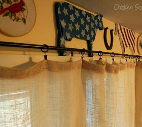 Superb Easy Diy Burlap Curtains, Home Decor, Reupholster, Window Treatments