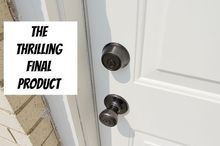 an amazingly easy way to refinish door hardware, doors