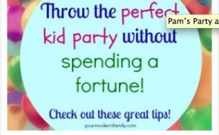 birthday party ideas without spending a fortune, AWESOME Birthday party ideas without spending a lot of money yourmodernfamily com