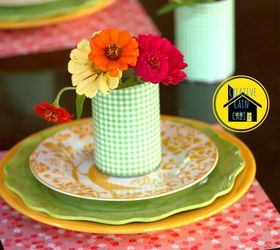 Scrapbook Paper Craft Table Setting, Crafts, Home Decor, Scrapbook Paper As  A Place